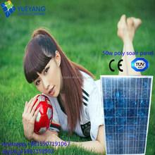 YYOPTO top quality monocrystalline 12v 50w solar panel for EU and US