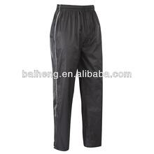 Mens waterproof trouser/men cheap waterproof pants