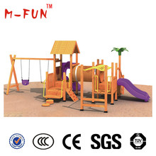 wood playset for kids with attractive design