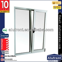 Top grade aluminium turn & tilt window with customer's made