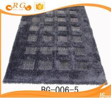 plain exhibition ice silk custom antislip home carpet