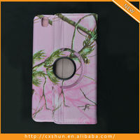 Hot Pink Camo Leather Case For Samsung Galaxy Tab Pro T320 8.4