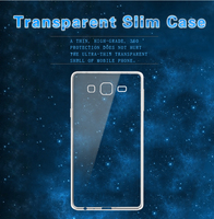 Cell phone case for Samsung galaxy On7 with transparent color cover for Samsung galaxy On7