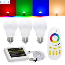 intelligent wifi control rgbw bulb led/smart energy led bulbs light e27 7W led bulb lighting