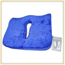 Confortable Memory Foam Seat Cushion, Bamboo Car Pillow
