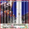 Custom Digital Printed Shower Curtain