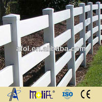 AFOL Brand 4 Rails Vinyl Fence Chain Link Fence Dongtai