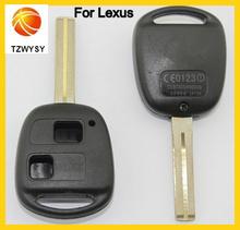 Coche de 2 botones de cáscara dominante alejada del caso para lexus cubierta dominante alejada