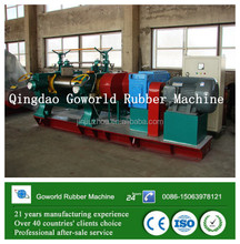 automatic gap adjustment open rubber mixing mill / rubber mixing machine