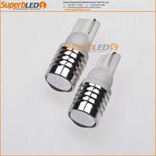 12V Super brightness high power T10 cree chip led auto bulb