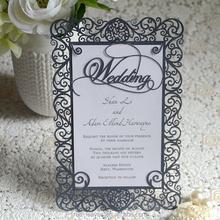 New wedding card high end grace wedding favor invitation cards