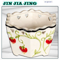 ceramic flower pot ashtray