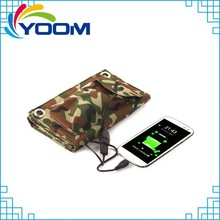 Portable foldable solar engery charger bag for Samsung /Iphone/MP3/MP4