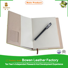 2015 a6 6ring binder refill daily ruled dairy with pen holder