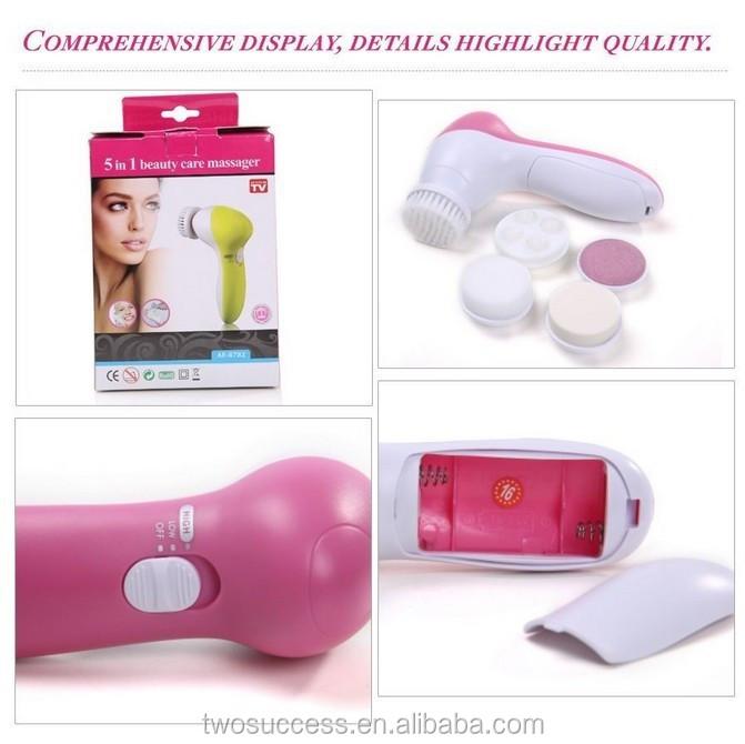 vibrating Rechargeable waterproof facial cleansing brush facial cleaning brush electric face clean brush .jpg