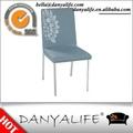 Dyc99 Danyalife cromo venta caliente piernas de cuero de la PU de la silla lateral
