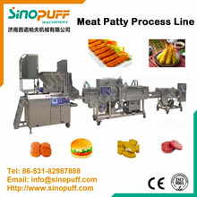 Chicken Nuggets Making Machine/Fish Fillet Production Line
