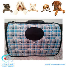new style canvas colorful carrier bag for pet