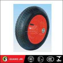 pneumatic small rubber wheel 4.80/4.00-8 bend straighr valve