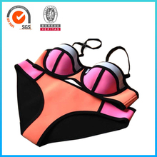 High Quality Top and Bottom Women Neoprene Bikini Triangle