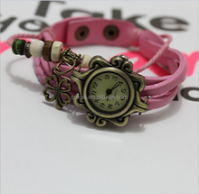2015 new design wholesale cheap price vintage retro watch for girl,hottest smart wrist watches