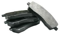 Auto spare parts brake pads mitsubishi pajero