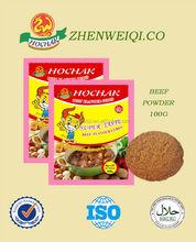 Halal instantánea bouillon polvo de pollo condimentos en polvo cangrejos sabor sopa de polvo para áfrica precio de fábrica