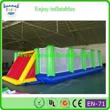 2015 Enjoy giant inflatable sports games, inflatable sports arena, inflatable soccer arena