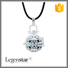 2015 Fashion Mother Gift Melody Bola Pendant Necklace With Custom Shamball