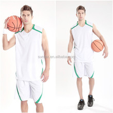Suntex Basketball Jersey 100% Polyester Breathable and Dry Fit Basketball Wear