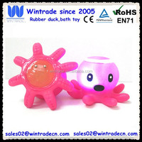 LED light toy/plastic flashing octopus/led game toy