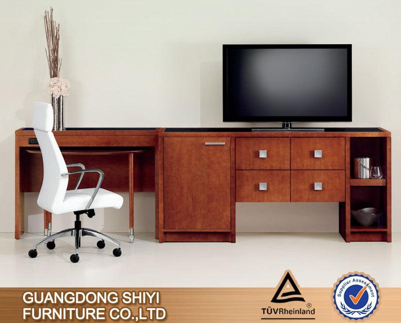 hotel bedroom tv stand modern design plywood tv cabinet