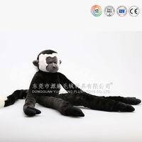 2015Monkey plush toy,black and white monkey stuffed toy,High quality monkey plush toy