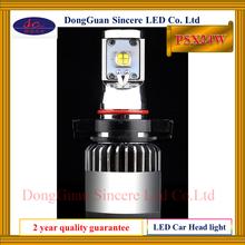 Hot selling imported US MKR chip 2000 Lumen long lifespan led car headlight bulb