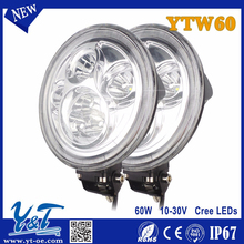 60w Aluminum Alloy 60w combo led PMMA for Trucks/ATV/Construction/Mining IP67