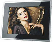 digital photo frame support photo/music/video, CE&ROHS approved high Resolution 1080p