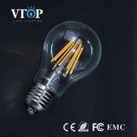 top quality 4w led filament bulb light e26 a19 led bulb china manufacturing led lighting bulb