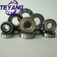 China deep groove ball bearing for auto/vehicle/engine/generator/mechanical arm/motorcycle/ furniture