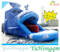 2014 China Factory New Design Whale Inflatable Slide for Commercial Use