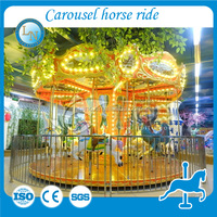Attractive musical carousel horse ! portable amusement ride