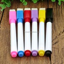 LOGO Printing Eco-friendly magnet erasable pen/magnetic refrigerator pen