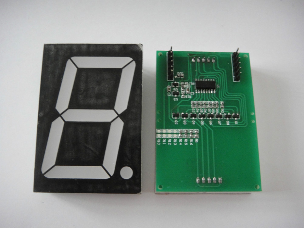 Lesson 20 Driving 7-Segment Display by 74HC595