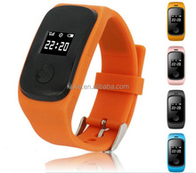 Hotsale Emergency GPS Tracker Security Children Kids Smart Watch With SIM Card Slot SOS Phone Call For Children Old People