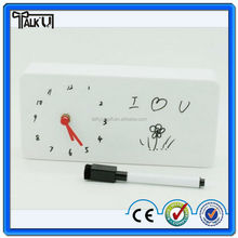 High quality memo alarm clock/alarm table clock/table clcok with paper note