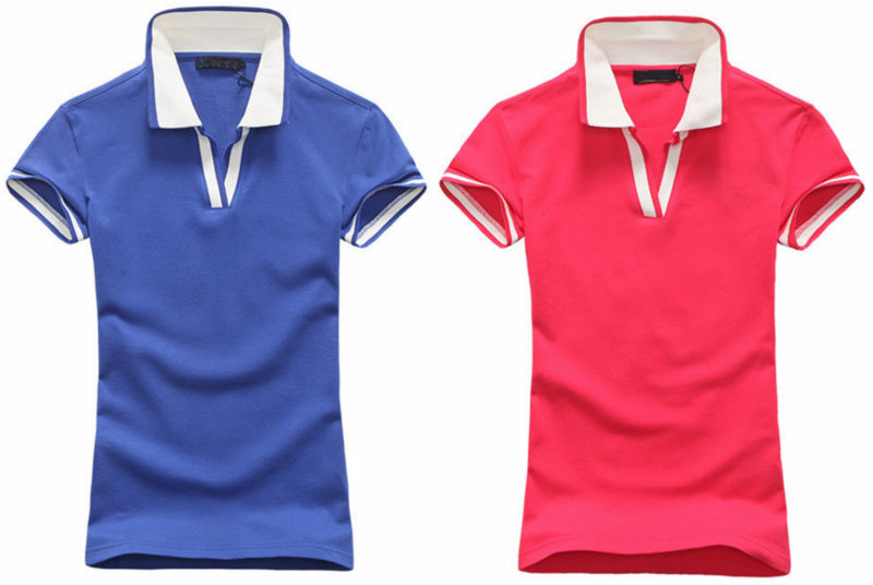 Atacado mulheres soft algod o dur vel dri fit polo for Women s dri fit polo shirts wholesale