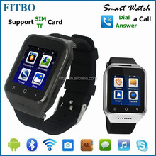 2016 Cheap GPS/WIFI/3G/Dual Core mobile watch phone for iphone 5/5s/6/6s