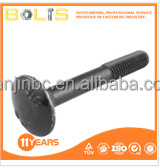 DIN603 case hardened bolts m4 metric carriage bolts