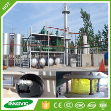 High Yield Regeneration Engine Oil Distillation Purification Machine