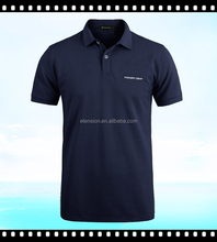 Latest Pure Colour Polo T-shirt 100% Cotton Fabric For T- shirt