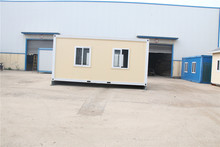 Good PU sandwich panel waterproof camp container house